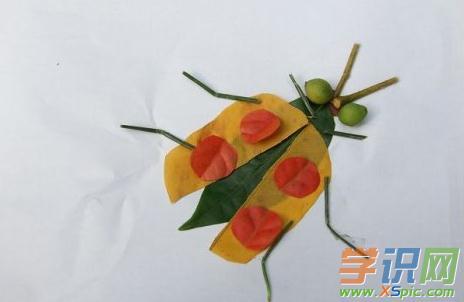幼儿简单树叶粘贴画图片大全
