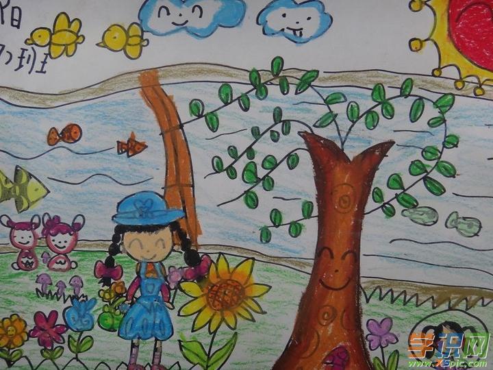 五年级春天的画画图片大全 画画春天的气息五年级