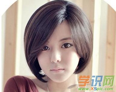 2017圆脸女生短发发型_适合圆脸女生的短发发型