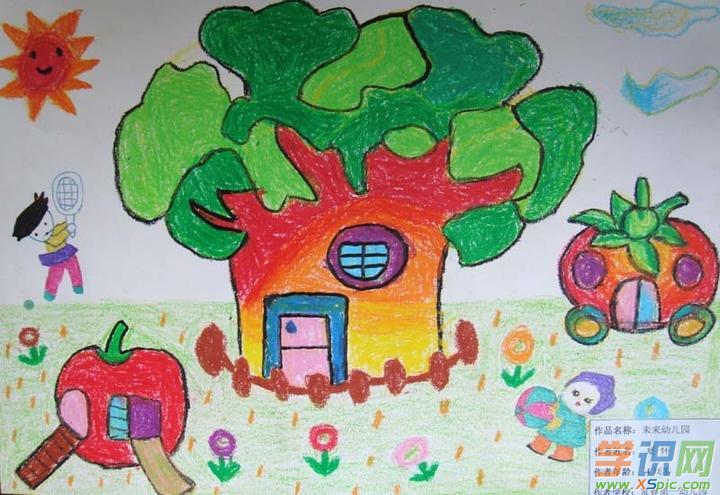 幼儿亲子绘画作品图片大全_幼儿园感恩节亲子绘画图片