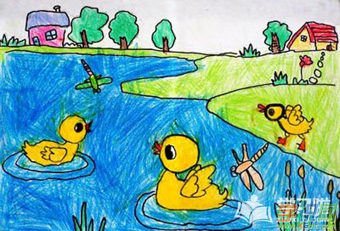 儿童一年级简单图画