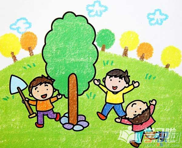 儿童画画大全简单漂亮人物图片  4.小女孩简笔画漂亮可爱