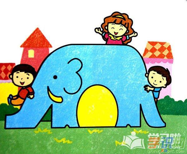 儿童画画简单漂亮人物图片 本文地址:http://www.xspic.