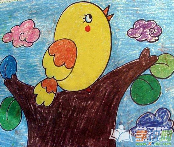 儿童动物画画大全  4.可爱的小动物画画