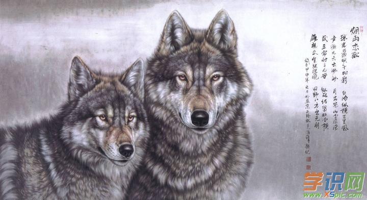 国画动物画图片_国画动物画作品