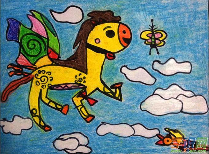 小学二年级儿童画优秀作品图片  2.小学二年级优秀绘画作品  3.