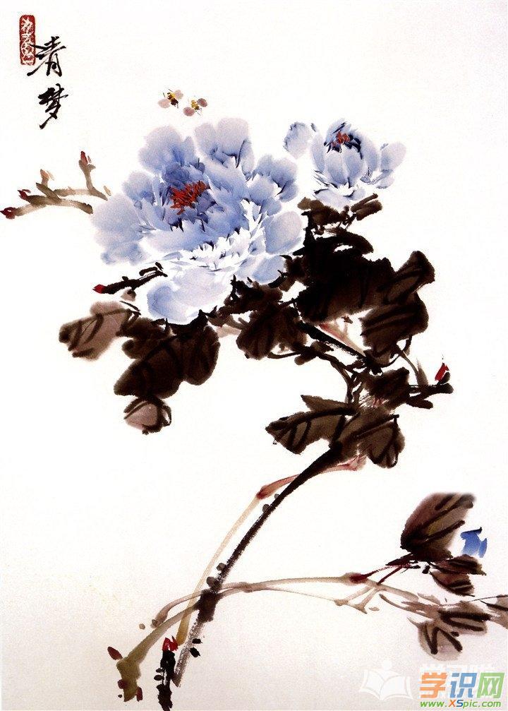 古风水墨山水画手机壁纸高清图片  3.水墨山水画手机壁纸高清图片  4.