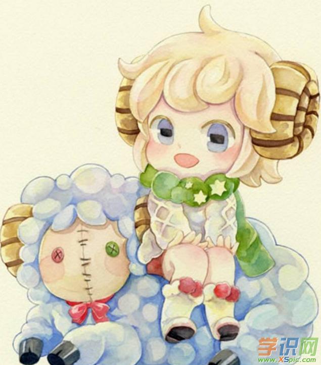 白羊座女生动漫图片摩羯座男生跟巨蟹座女生配吗图片