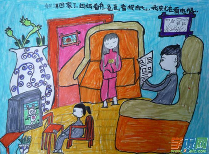 优秀创意儿童画作品  6.下幼儿绘画获奖图片图片