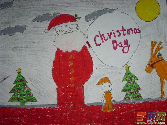 创意儿童画美术作品
