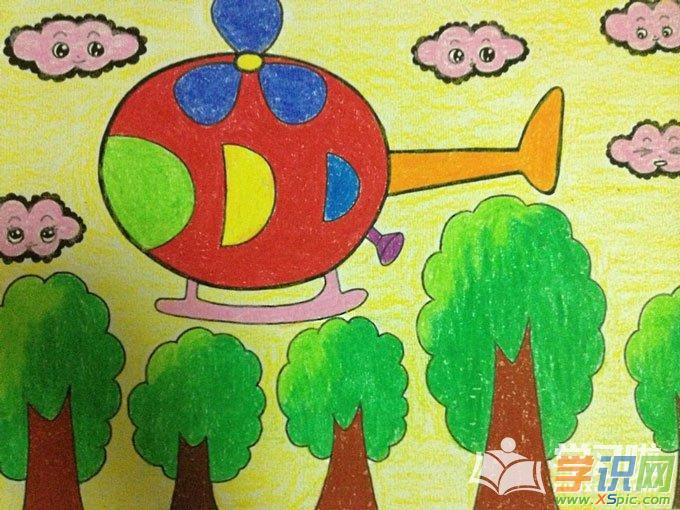 5歲兒童畫畫大全圖片  4.五歲兒童繪畫圖片欣賞