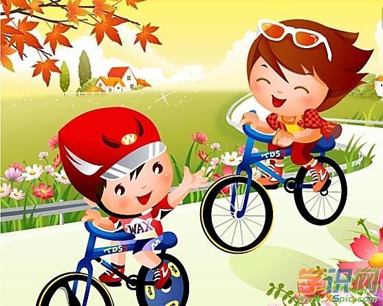 有关写我学会了骑自行车小学作文