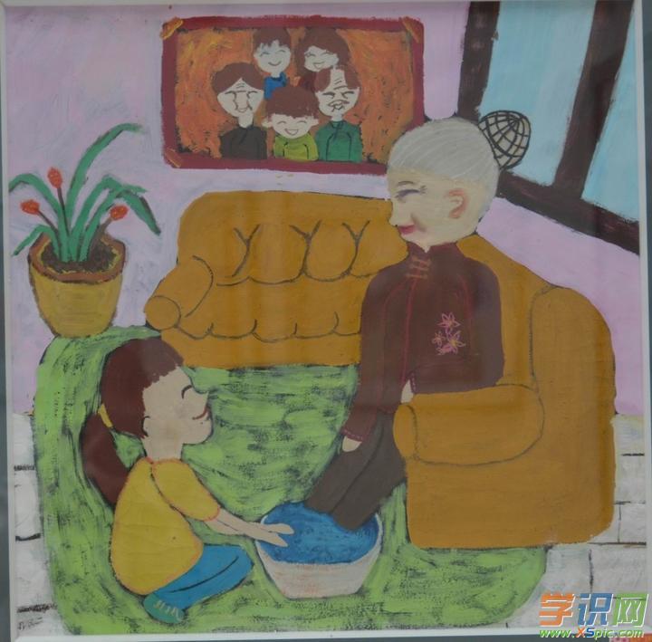 幼儿文明礼仪绘画作品欣赏  4.文明礼仪绘画获奖作品  5.