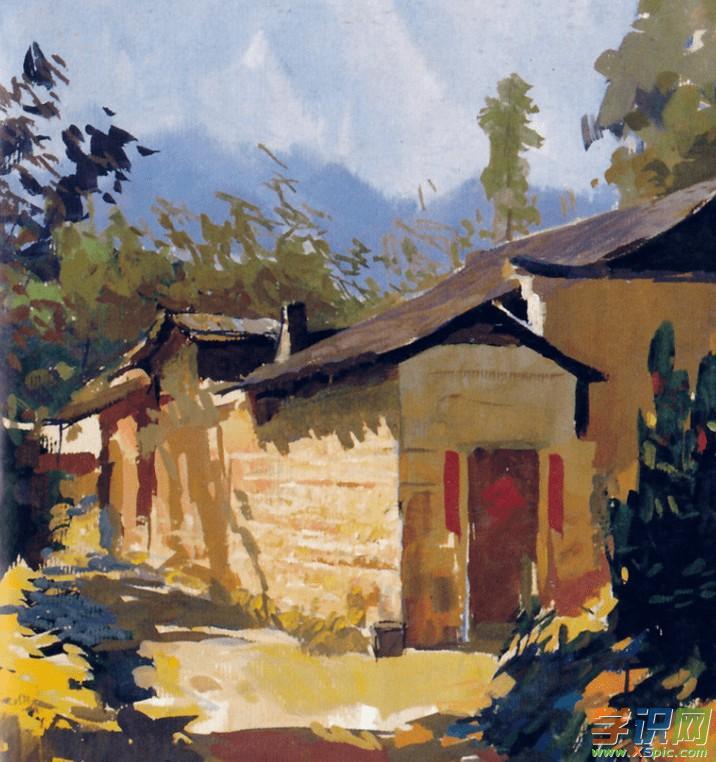 画家乡的风景画图片_画家乡的风景画素材