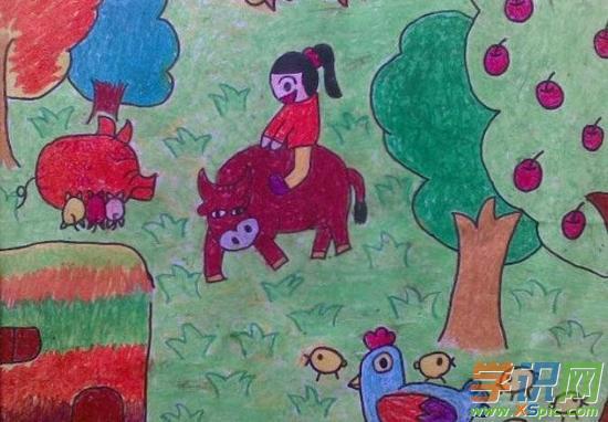 小学生一年级美术绘画