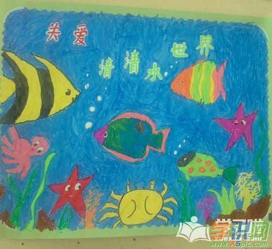 简单风景画蜡笔画  2.小学生蜡笔画画图片  3.蜡笔水彩画技法  4.