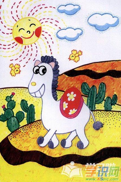 二年级动物画画素材图片