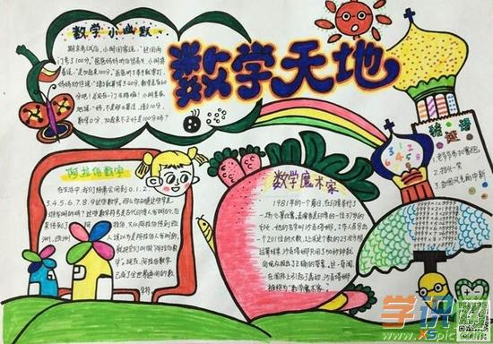数学日记的手抄报 什么是小数 5068儿童网