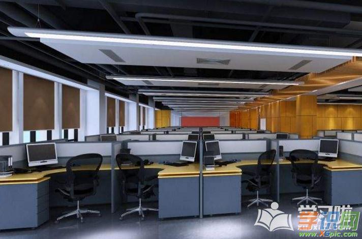 200平米办公室装修设计实景图片
