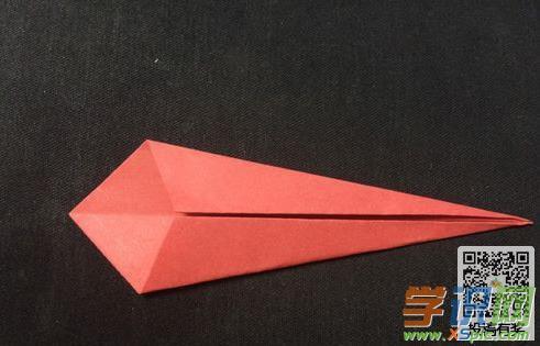 儿童简单小蛇折纸方法步骤图解