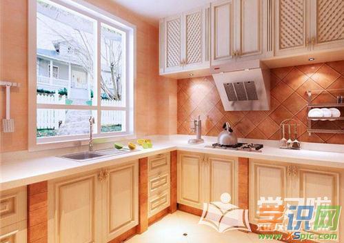 欧式风格厨房瓷砖效果图