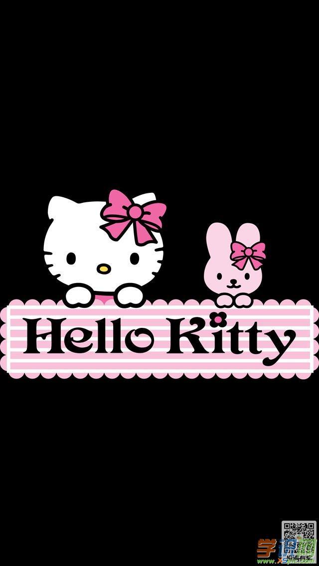 超好看的哈喽kitty手机壁纸