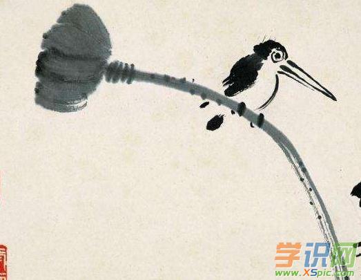 工笔花鸟画步骤图片