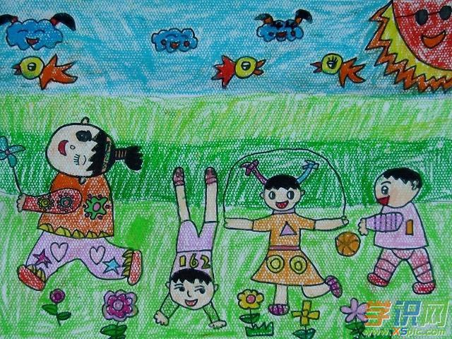 六一儿童节快乐画画图片大全  2.欢度六一儿童节绘画  3.