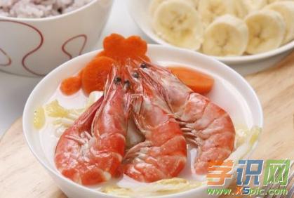 白菜大虾汤怎么做简单又好喝