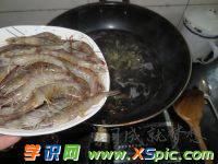 白芍基围虾的做法