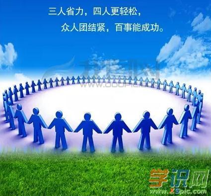 关于团结就是力量励志演讲稿