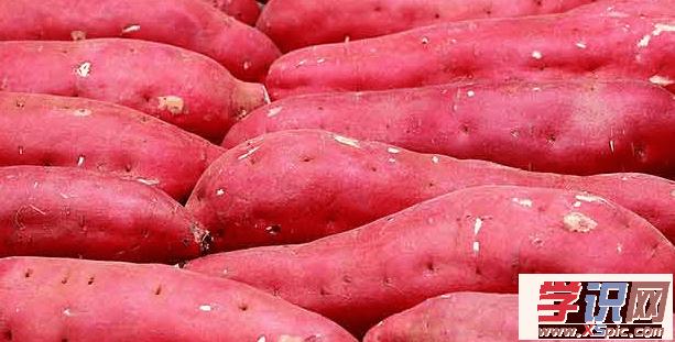 红薯的养生功效