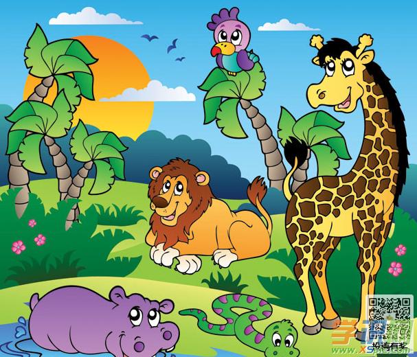 描写动物的二年级优秀作文三篇