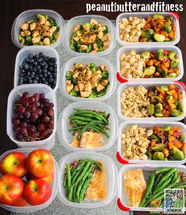 健身减肥高颜值食谱有哪些