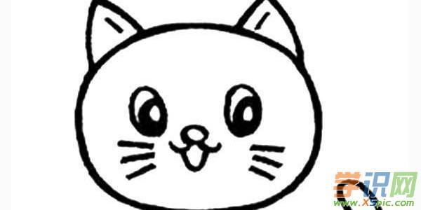 简笔画小猫