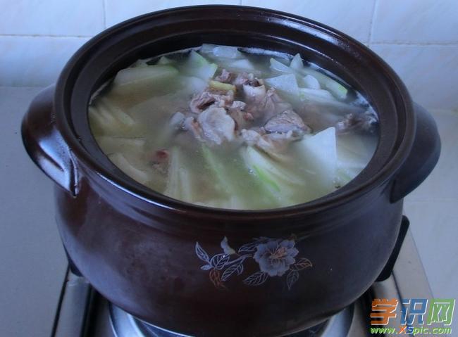 羊肉冬瓜汤的制作方法图解