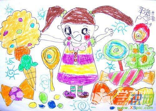 二年级儿童画画图片素材