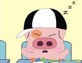 小学生可爱的小猪漫画图片欣赏