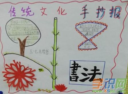 简单漂亮的中国传统文化手抄报图片资料  2.