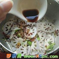 麻汁拌藕的做法