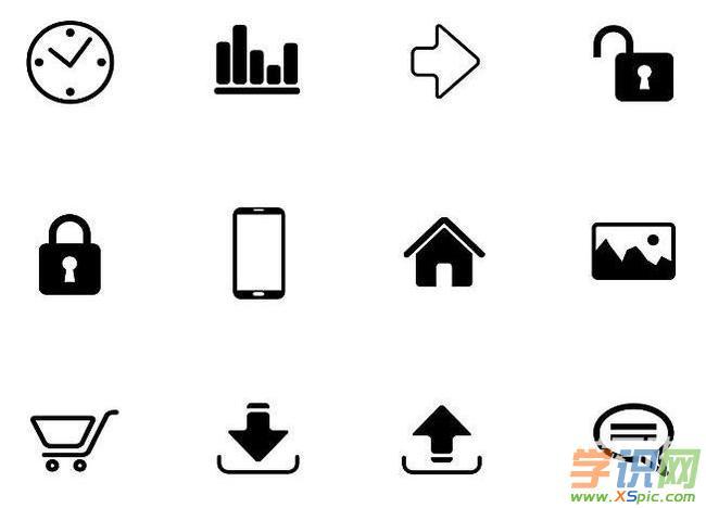 手机app设计图标素材