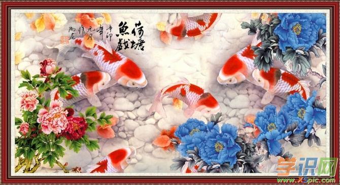 小鱼绘画作品图片精选