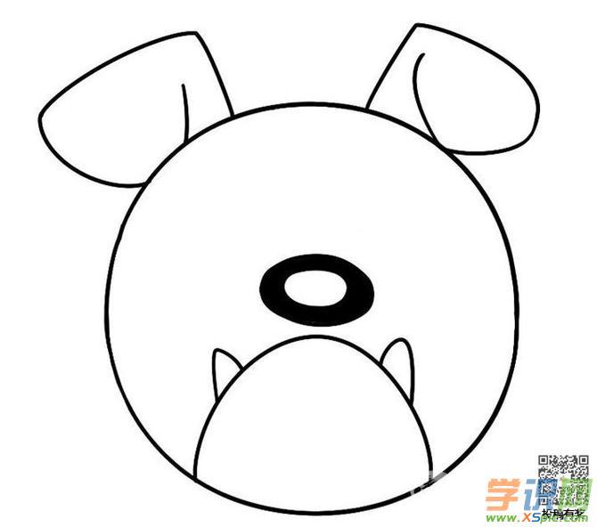 关于牛头犬的画画教程