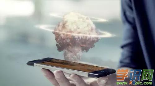 [全球第一款手機]全球第一款全息手機原型,全息時代要來了?