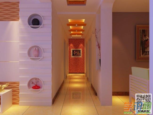 学识网 设计 设计图 房屋设计图     走廊是连接房子室内不同空间的一
