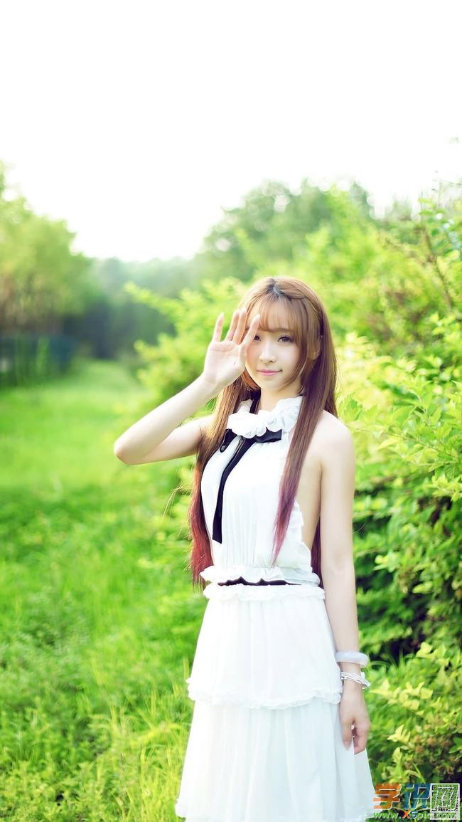 清纯女生手机壁纸高清壁纸  4.清新唯美的美女手机壁纸图片  5.
