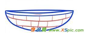 关于小船的绘画教程