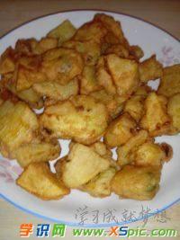 怎么炸土豆块