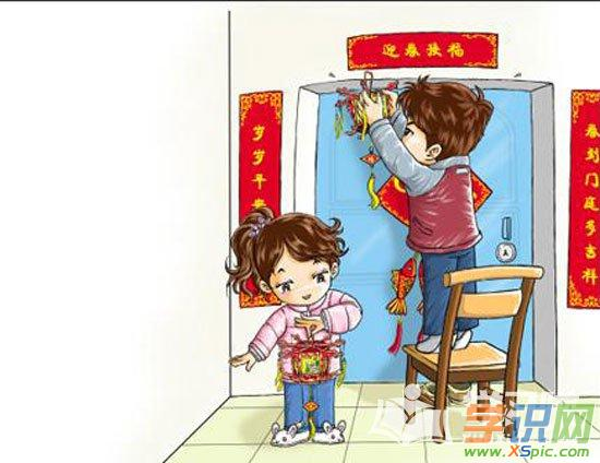 儿童画简单漂亮图片