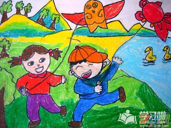 儿童画画简单好看的素材